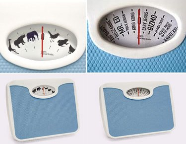 animal celebs weighing scal