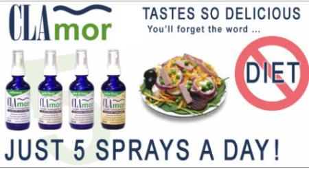 clamor weight loss spray